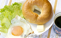 地元の食材にこだわった朝食サービス!